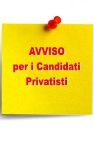 Calendario prove Studenti Privatisti mese di Maggio – Seconda sessione a.s. 2020/21 – RETTIFICA